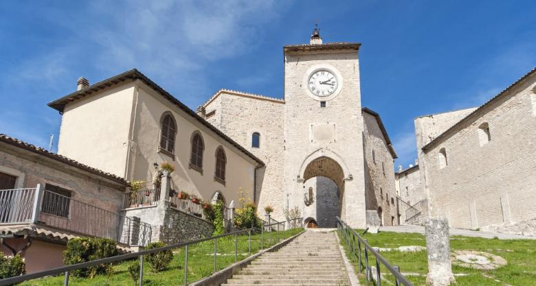 Clock tower - Monteleone di Spoleto
