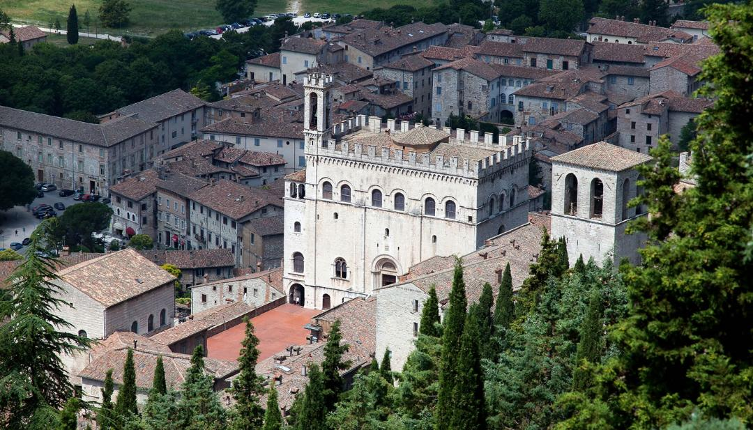 View of Gubbio
