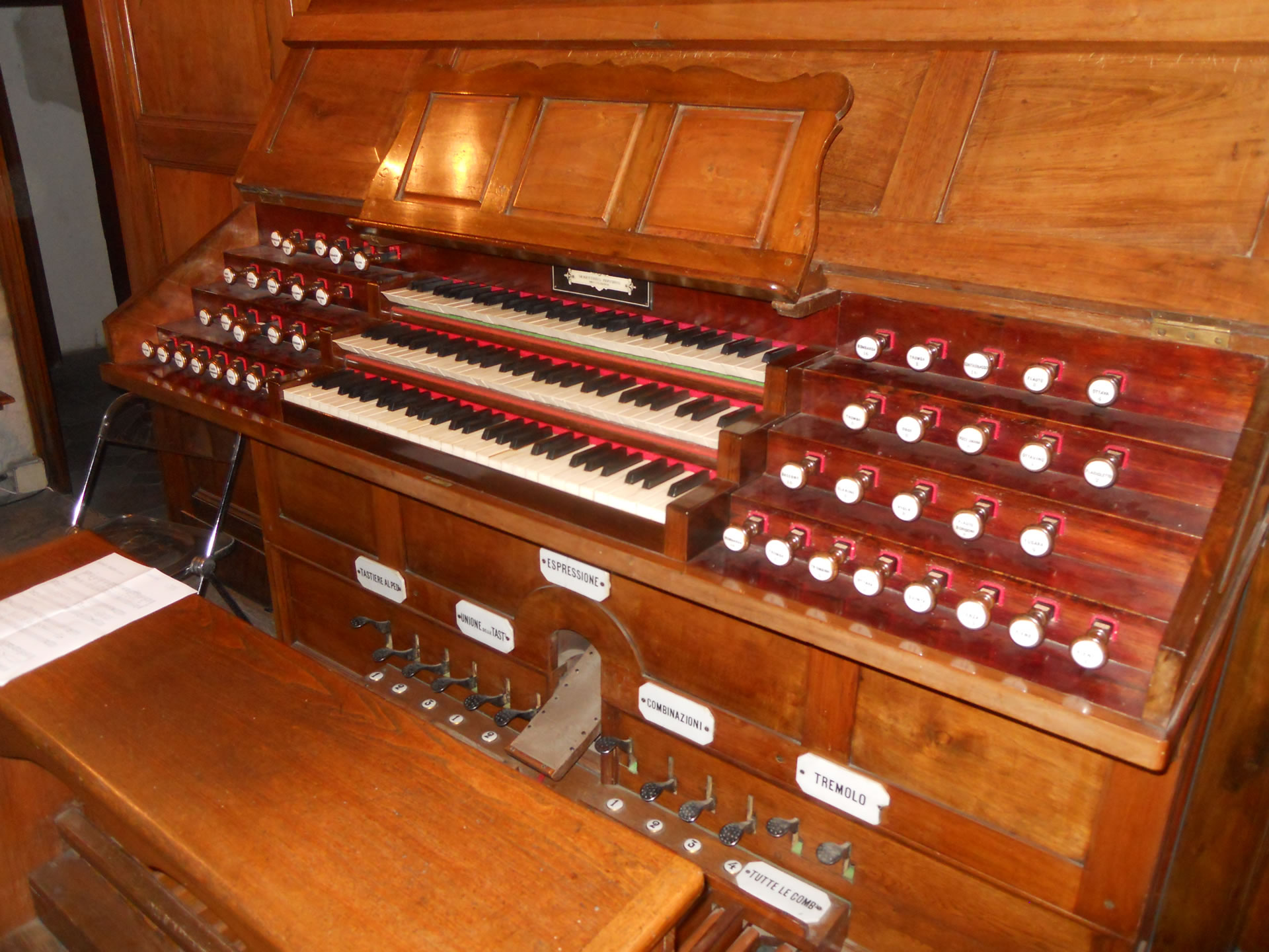 An itinerary of historic church organs